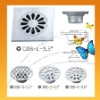 Best floor Drain made of AISI 304 stainless steel ,size for 3inch and 3.5 inch , both round and square shape