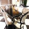 Wearproof picture of dining table designs YT-201