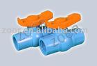 1/2-4 plastic ball valve