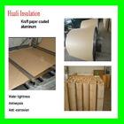 Kraft paper coated aluminum composite facing board 1060/3003