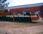 latest and real 120t Japan KATO hydraulic truck crane
