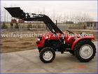 tractor front end loader and backhoe