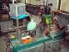 carbon brush pressing machine, carbon brush machinery, carbon brush machine, industrial carbon brush machine