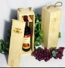 Wooden wine Box(handmade Gft Set)