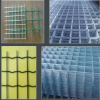 Steel bar welded wire mesh panel for construction reinforcement
