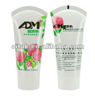 cosmetic soft tube with special sealing