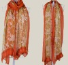 fashion new design ladies summer popular LACE scarf S150