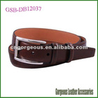 Split Leather Coating with Silicone Belt Man
