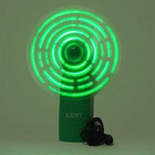 led flashing message fan,led fan,mini fan,message fan