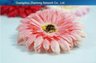 latest fashion gerbera daisy flower hair clip hair accessory