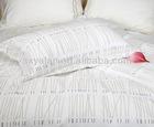 100%cotton simple pigment printed 4pcs bedding sets
