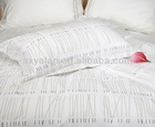 100%cotton simple pigment printed 4pcs bedding sets