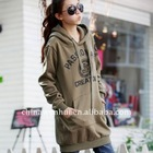 new fashion style printed letter sweatshirts 2011