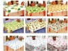 plastic table cover PEVA table linen PE table cover