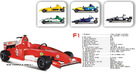 Super Formula one 2:1 toy car