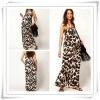 2013 Latest Designer Leopard Print Maternity Maxi Dress