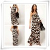 2013 Latest Designer Leopard Print Maternity Maxi Dress