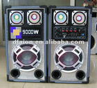 Quote of Egypt 6.5inch high quality disco loudspeaker with guitar input/USB/SD/FM/wireless MIC