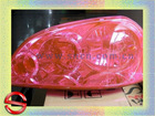 with protective layer on surface - 2012 latest Auto film for car headlight
