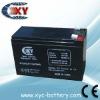 12 Volt 7 Amp Hour Alarm Battery