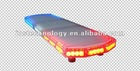 Police car lightbar, strobe light bar, warning lightbar 1W/LED, color red/amber/white/blue available