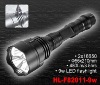 rechargeable 9W CREE LED flashlight