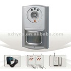 Wireless GSM Alarm System with Built-in PIR Sensor