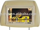 7'' LCD headrest monitor/headrest monitor/car monitor