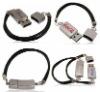 the hot selling Metal bracelet usb flash drive