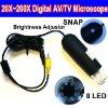 20X~200X 60 fps TV Microscope