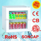 Mini Beverage Showcase, Drinking Cooler, Glass door fridge, Refrigerated Display Cases SC-50