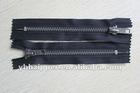 #5 C/E brass Antique silver zipper