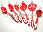 Various kinds of plastic spoon