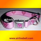 Top quality supergirl dog collars