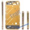 original iphone parts Hot Middle Chassis with Luxury Diamond Frame + Buttons SIM Tray