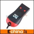 USB 2.0 Micro SD TFlash TF M2 Memory Card Reader Mini