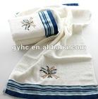 jacquar embroidery exquisite bath towel