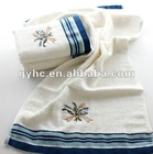 jacquar embroidery exquisite bath towel