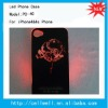 PC-40 NEW Sense Flash light Case Cover for Apple iPhone 4 4S 4G LED LCD Color Changed
