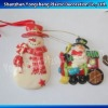 Christmas ornament hanging snowman/Christmas ornament/Chirstmas Snow man