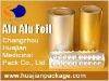 cold forming aluminum foil for medicine packing ( ISO , GMP )