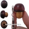 High-quality wood mushroom mini speaker