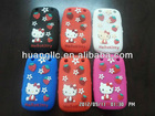 Newest Kitty Cat Shape Silicon Gel Cellphone case for Blackberry 9220,9320