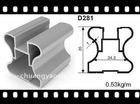 aluminium vertical frame for sliding door D281