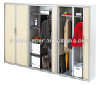 Roller shutter door steel locker
