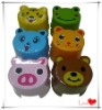 Plastic children animal stool