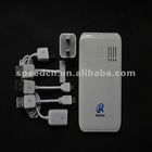 Popular 6000mAh portable power bank alkaline charger