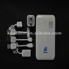 Popular 6000mAh portable power bank alkaline charger