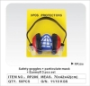 Earmuff(dust mask )safety goggles set