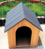 compact wood plastic composite wooden dog house